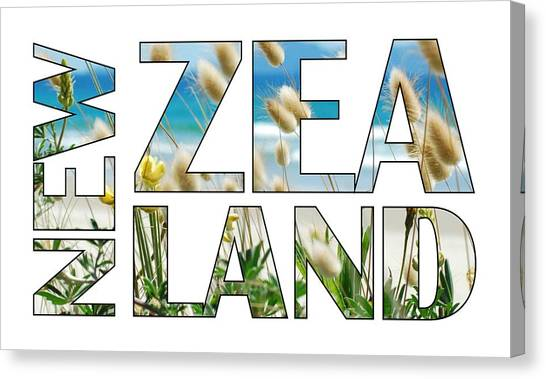 Canvas Print featuring the photograph New Zealand by Jocelyn Friis