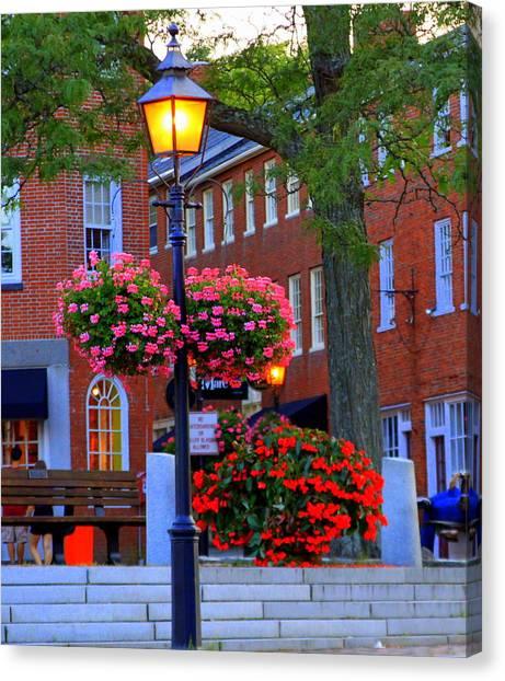 Newburyport Light Canvas Print
