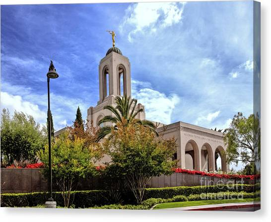 Newport Beach Temple Canvas Print