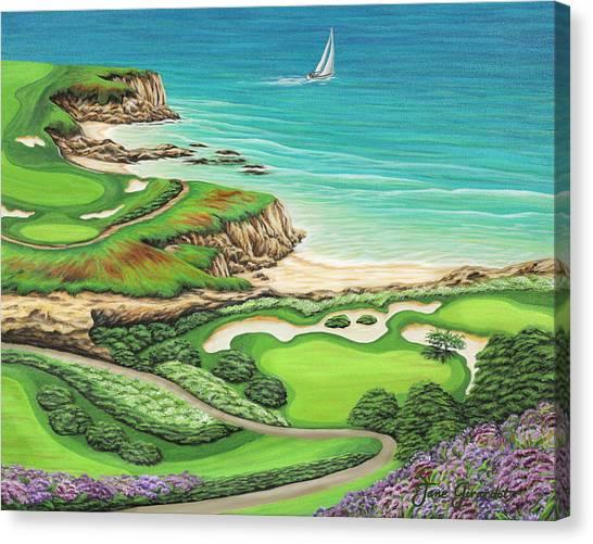 Newport Coast Canvas Print