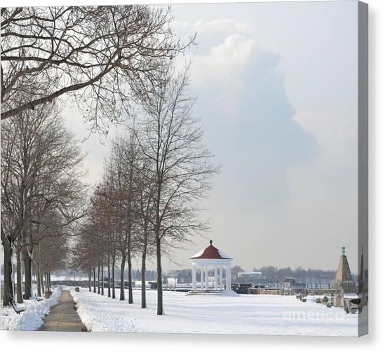 Newport Waterfront Canvas Print