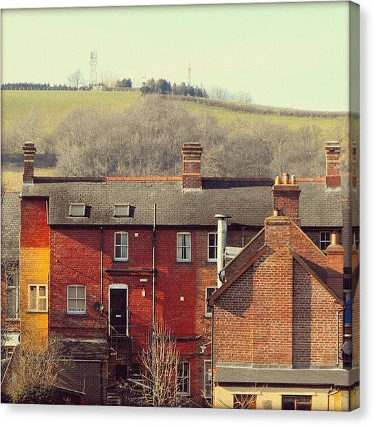 Victorian Canvas Print - Newtownpowys by Alexandra Cook
