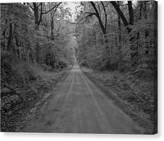 Next Stop..middle Of Nowhere Canvas Print