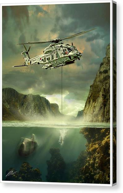 Iraq Canvas Print - Nh90nfh by Peter Van Stigt