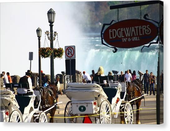 Niagara Falls Carriage Ride Canvas Print