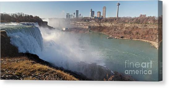 Niagara Falls Panorama Canvas Print