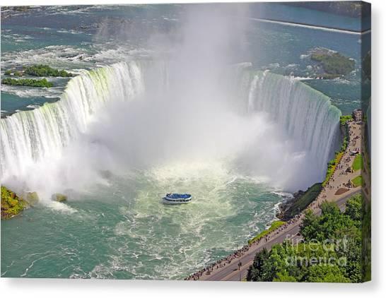 Niagara Falls Summer Canvas Print
