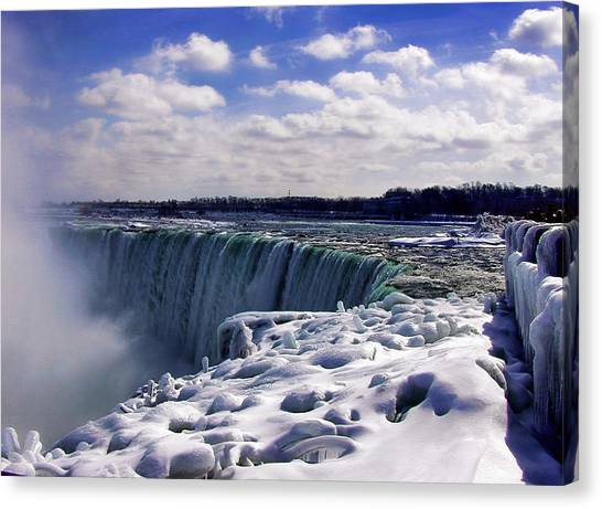 Niagara Falls Winter Canvas Print