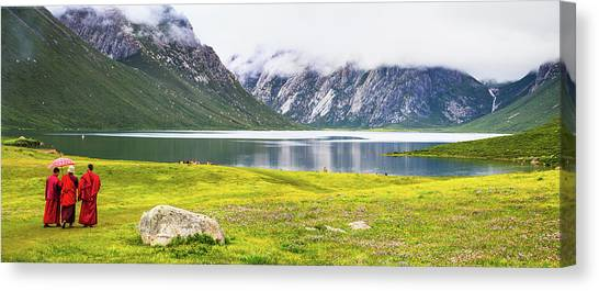 Nianbaoyuze National Geopark, Qinghai Canvas Print