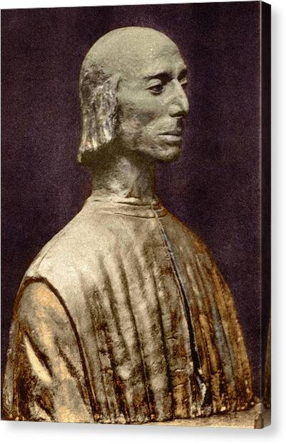 Political Science Canvas Print - Niccolo Machiavelli by Sheila Terry/science Photo Library