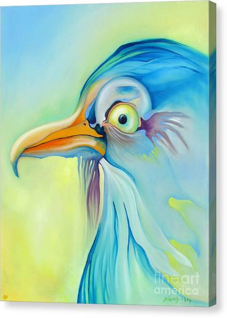 Nice Bird Canvas Print