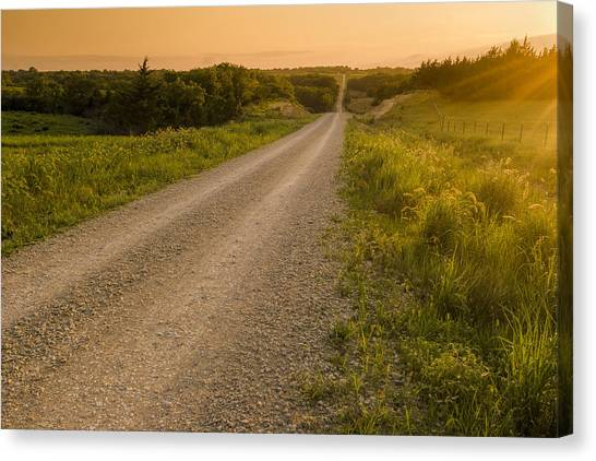 Nice Place For A Drive Canvas Print