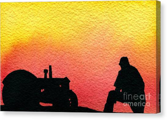 Nice Time Of Day Canvas Print by R Kyllo