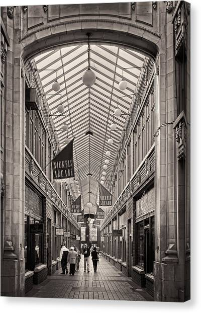 Nickels Arcade Canvas Print