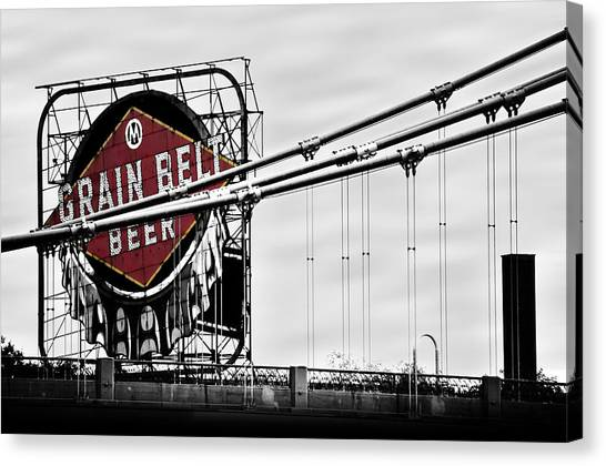 Mississippi River Canvas Print - Nicollet Island Treasure by Matthew Blum