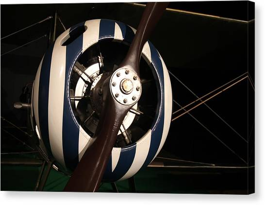 Nieuport 28 No.1 Canvas Print by Guerrin Lyons
