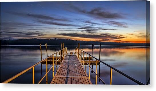 Night And Day Canvas Print by Brian Young