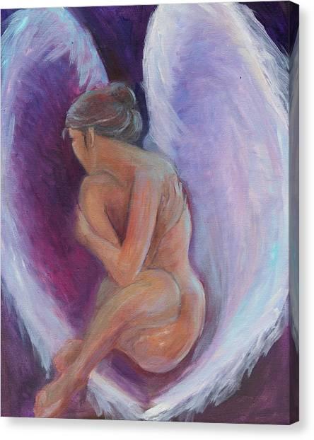 Night Angel Canvas Print by Gwen Carroll