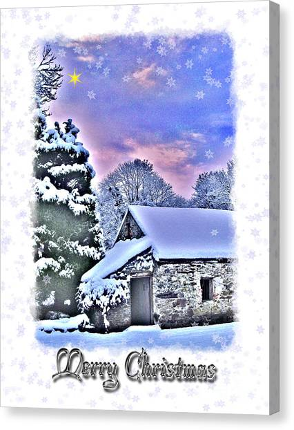 Christmas Card 27 Canvas Print