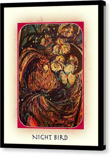 Night Bird Canvas Print