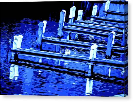 Night Docks Canvas Print