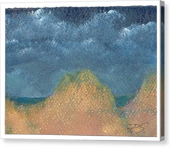 Night Dunes Canvas Print