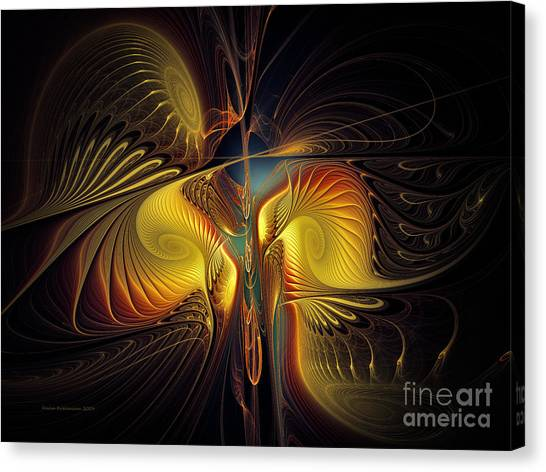 Night Exposure Canvas Print