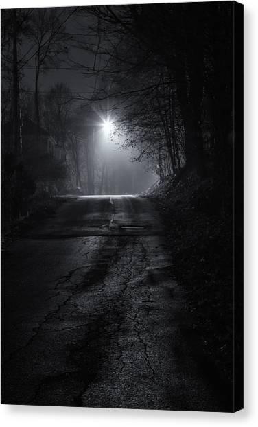 Night Fog Canvas Print