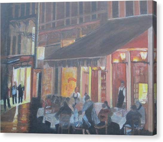 Night In Venice Canvas Print