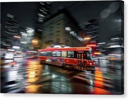 Night Moves Canvas Print by Jason Crockett