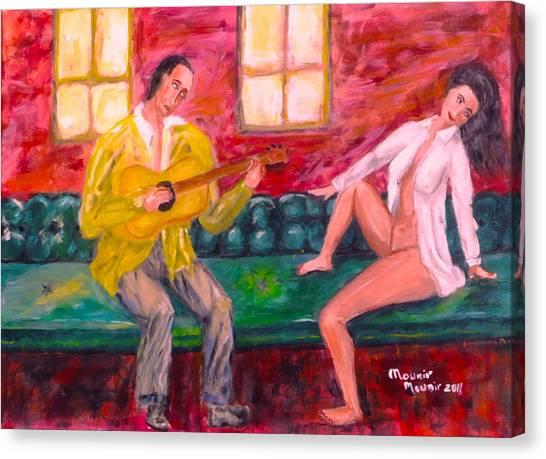 Night Serenade Canvas Print by Mounir Mounir