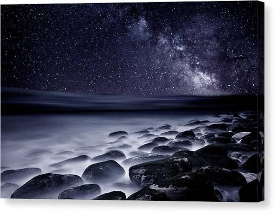 Night Shadows Canvas Print