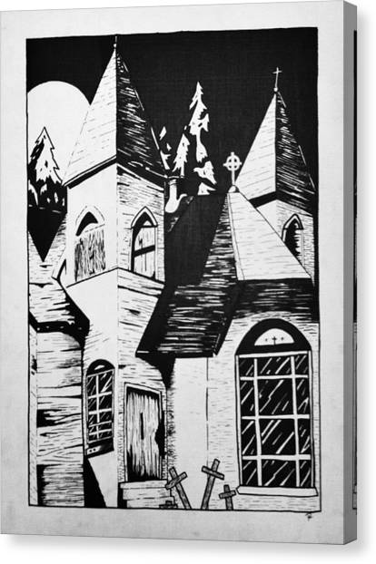 Night Whispers  Canvas Print by Rachel  Ledford