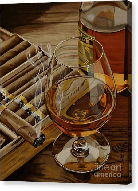 Nightcap Canvas Print