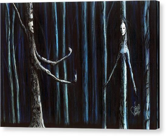 Nightfall Secret Canvas Print