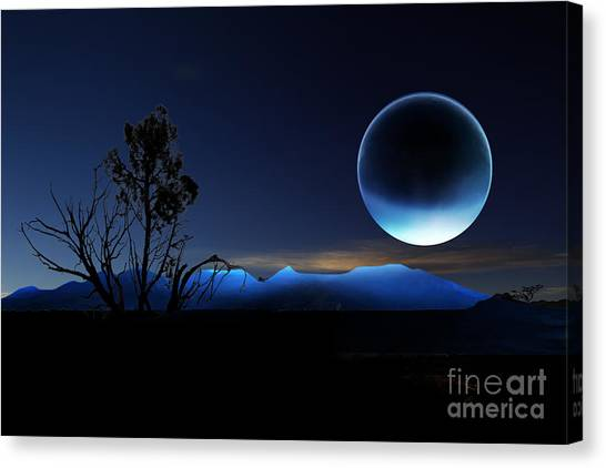 Nightrise Canvas Print