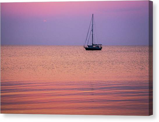 Night's Anchor II Canvas Print