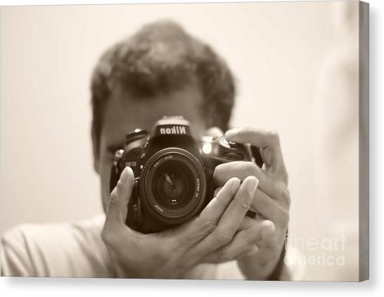 Nikon D7100 Canvas Print by Bobby Mandal
