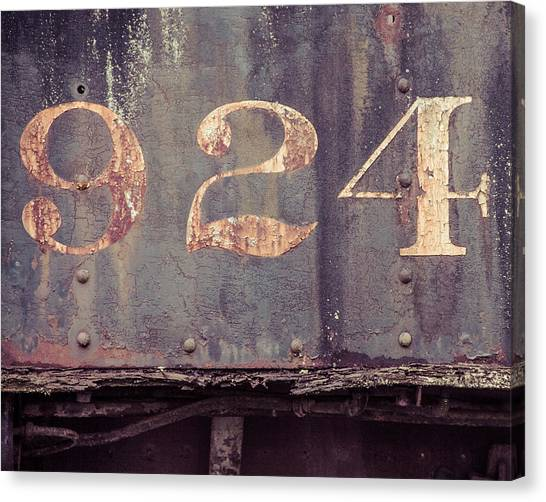 Nine Two Four Canvas Print
