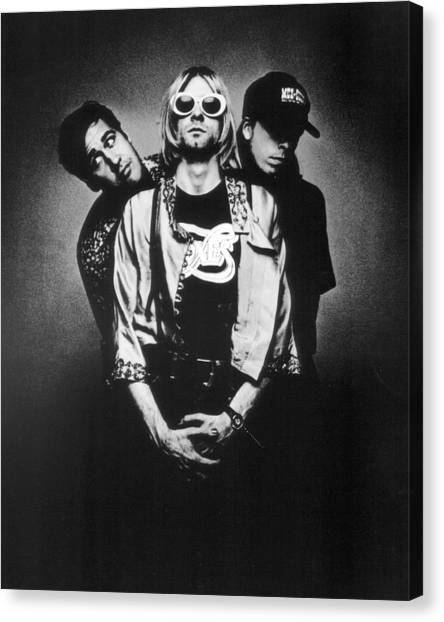 Nirvana Canvas Print - Nirvana Band by Retro Images Archive