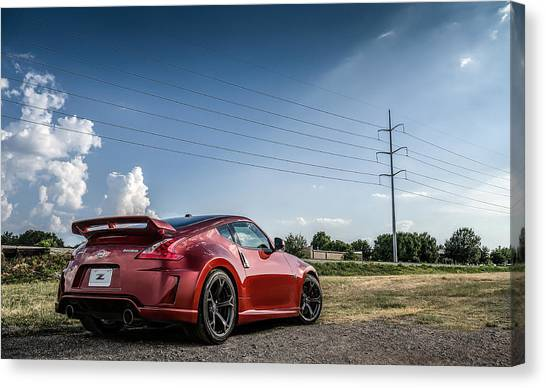Nissan Z Canvas Print   Nismo By Douglas Pittman