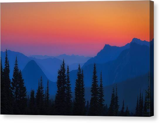 Nisqually Rainbow Canvas Print