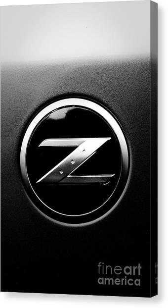 Race Cars Canvas Print - Nissan Z by Jt PhotoDesign