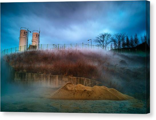 Nitrogen Fog Canvas Print