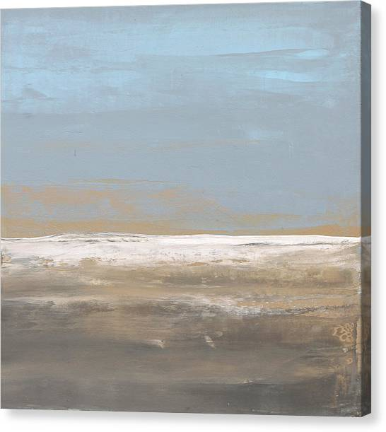 Sunrise Horizon Canvas Print - No. 103 by Diana Ludet