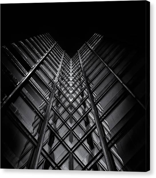 No 11 King St W Toronto Canada Canvas Print