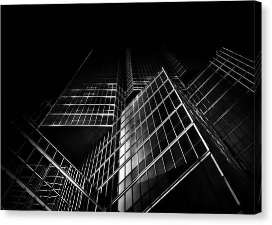 No 200 King St W Toronto Canada Canvas Print