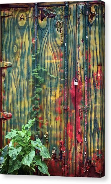 No Cojes Los Mangos Bajitos Canvas Print
