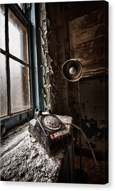 No Dial Tone Canvas Print