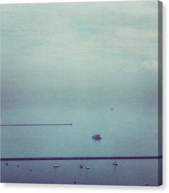 Harbors Canvas Print - No Horizon by Jill Tuinier